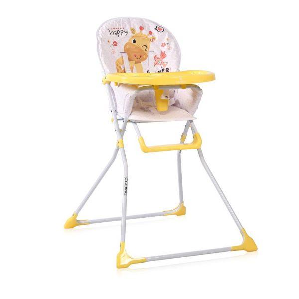 Scaun de masa Lorelli Cookie 2020 yellow giraffe