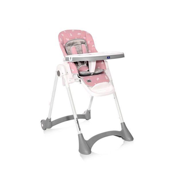 Scaun de masa Lorelli Premium Campanella 2021 Pink Bears