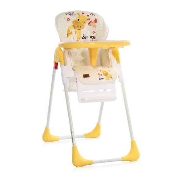Scaun de masa Lorelli Tutti Frutti 2020 yellow giraffe