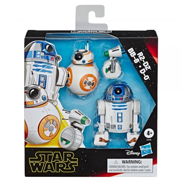 Set 3 figurine Hasbro Star Wars Droids E9