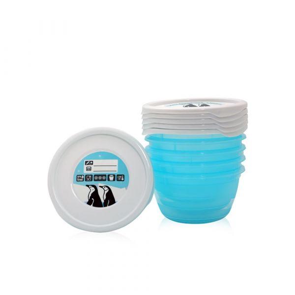 Set 5 containere pentru mancare 0.5 l Lorelli
