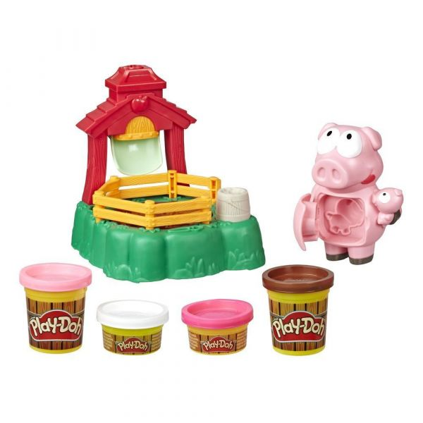 Set Hasbro Play Doh Animal Crew porcul Pigsley