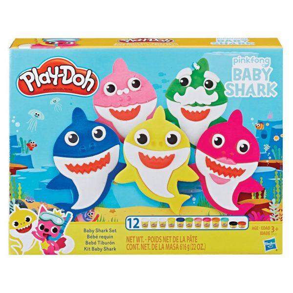 Set Hasbro Play Doh Baby Shark
