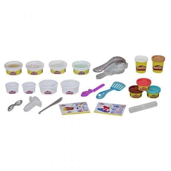 Set Hasbro Play Doh Kitchen Creations Rulouri de inghetata