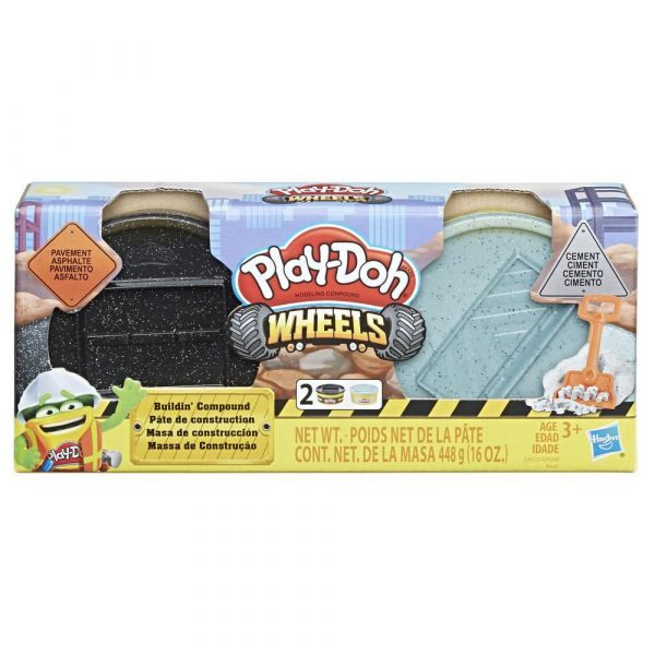 Set Hasbro Play Doh Wheels Construction