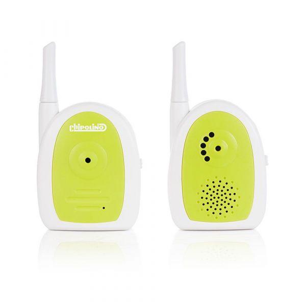 Sistem monitorizare audio bebelusi Chipolino Nano green