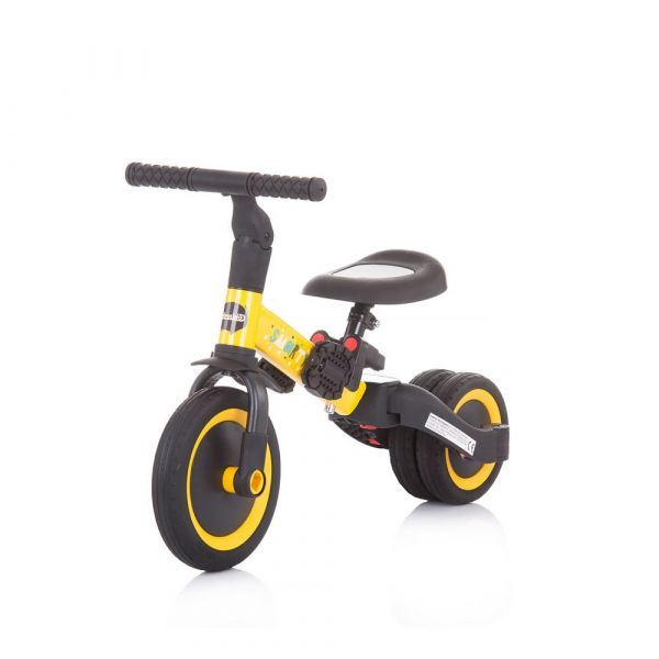 Tricicleta 2 in 1 Chipolino Smarty Yellow