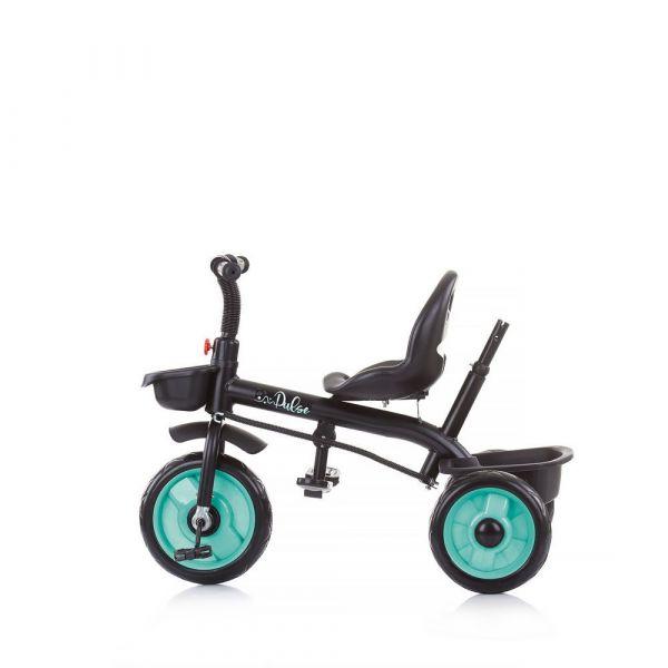 Tricicleta cu parasolar Chipolino Pulse Mint