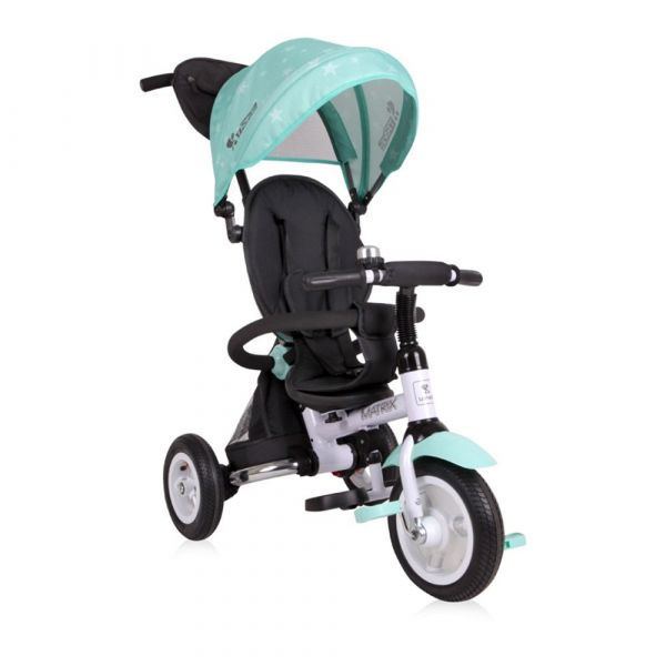 Tricicleta cu parasolar Lorelli Matrix Air Green Stars