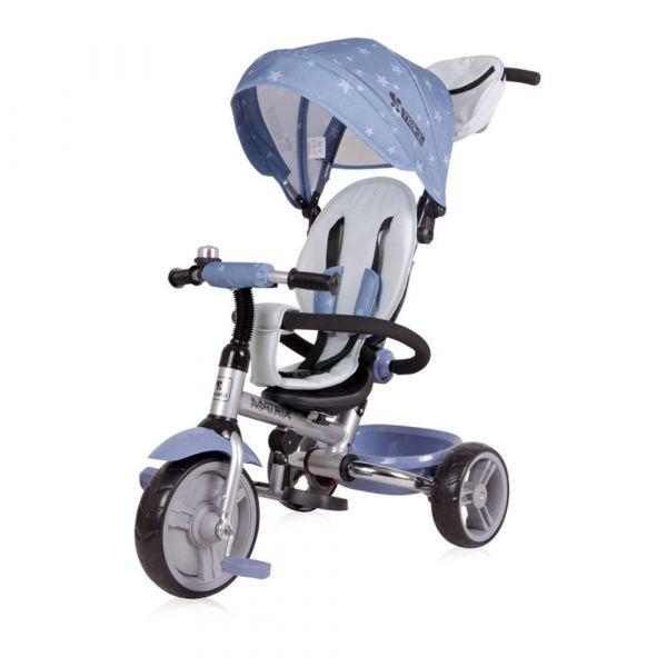 Tricicleta cu parasolar Lorelli Matrix Grey Stars