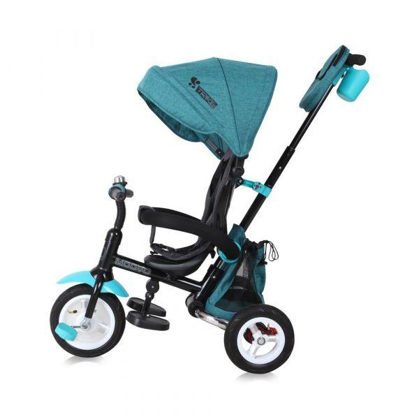 Tricicleta cu parasolar Lorelli Moovo Air Green Luxe