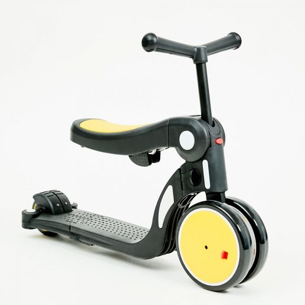 Trotineta 4 in 1 Chipolino All Ride yellow