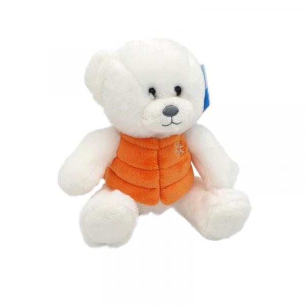 Ursulet de plus cu vesta 24 cm