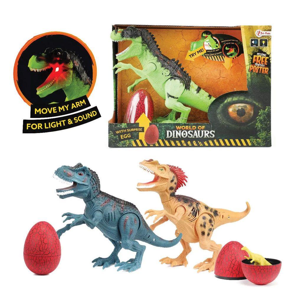 Dinozaur cu sunete si ou surpriza TToys imagine hippoland.ro