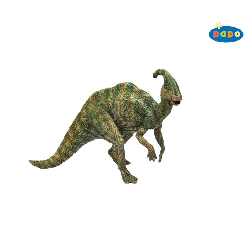 Dinozaur Parasaurolophus Papo imagine hippoland.ro