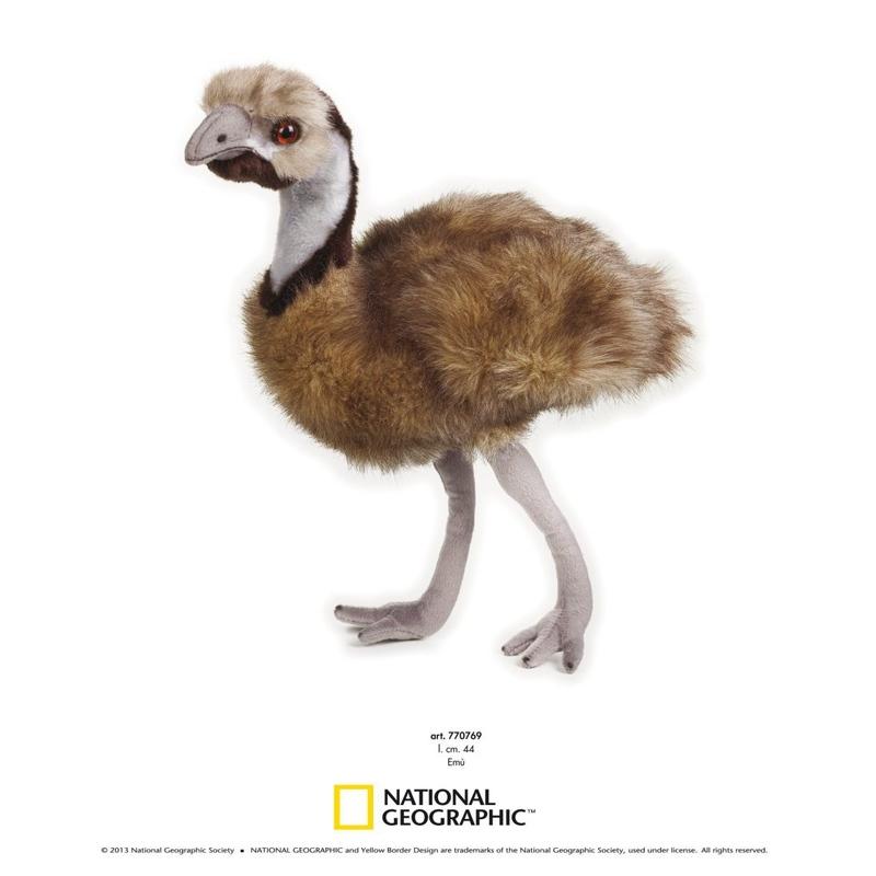 Emu de plus National Geografic 44 cm imagine hippoland.ro