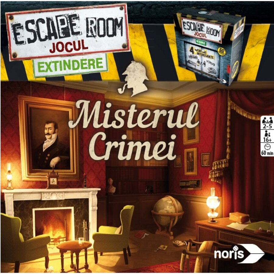Extensie Misterul Crimei Simba Escape Room