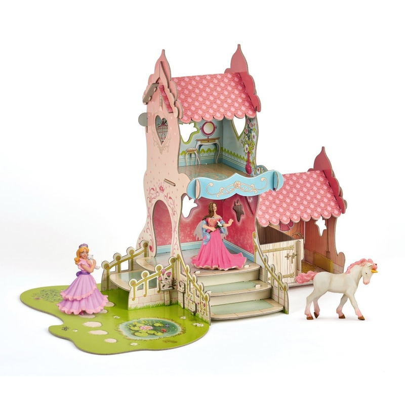 Castel cu 3 figurine Papo