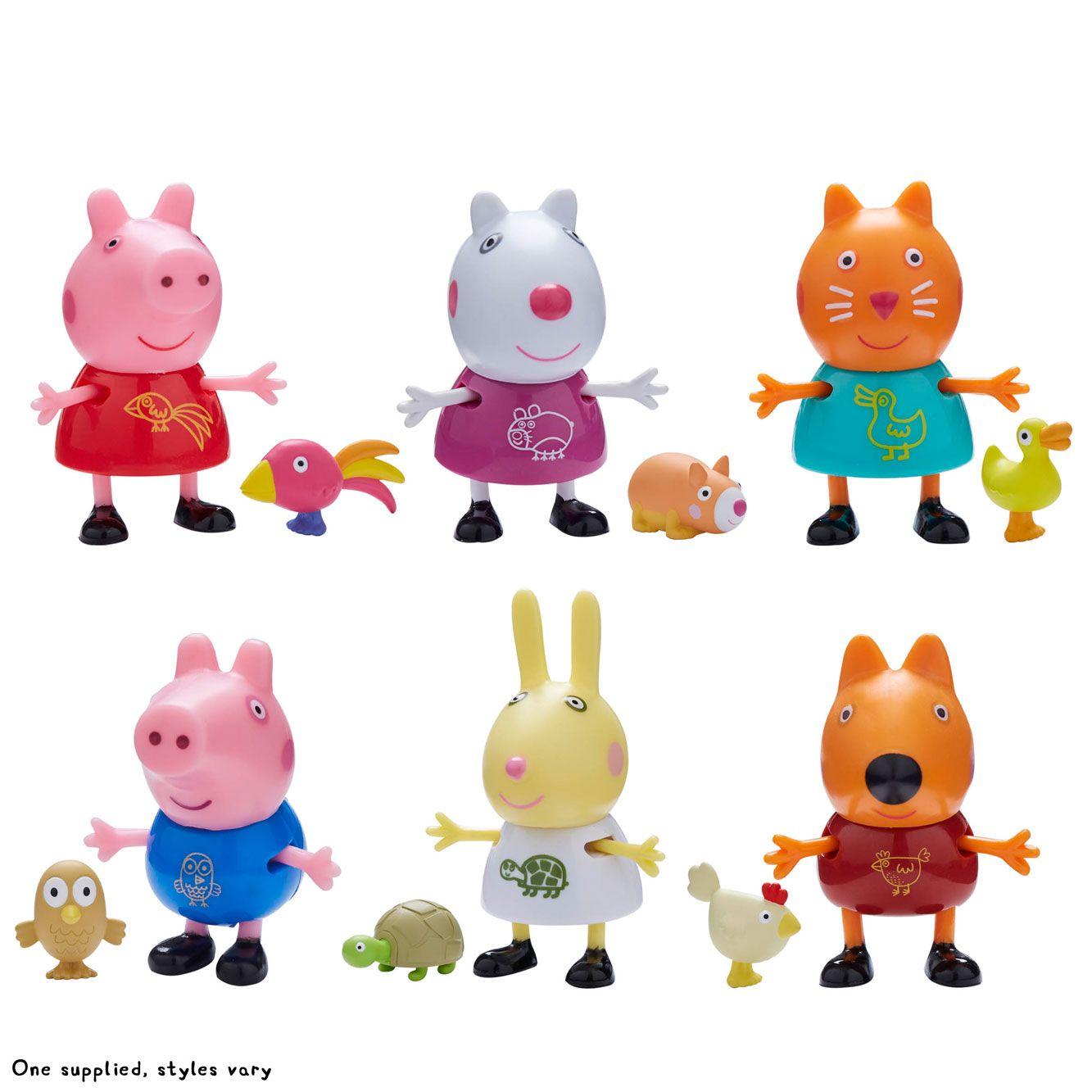 Figurina cu animalut de companie Peppa Pig imagine hippoland.ro