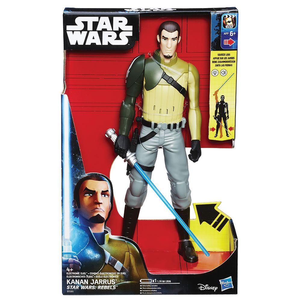 Figurina cu sabie electronica Hasbro Star Wars Rebels imagine hippoland.ro
