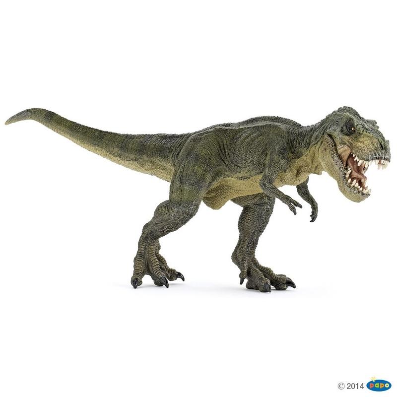 Figurina Papo Dinozaur T-Rex verde imagine hippoland.ro