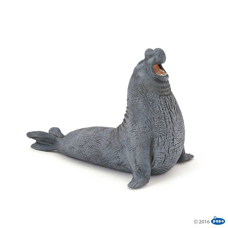 Figurina Papo Elefant de mare imagine hippoland.ro