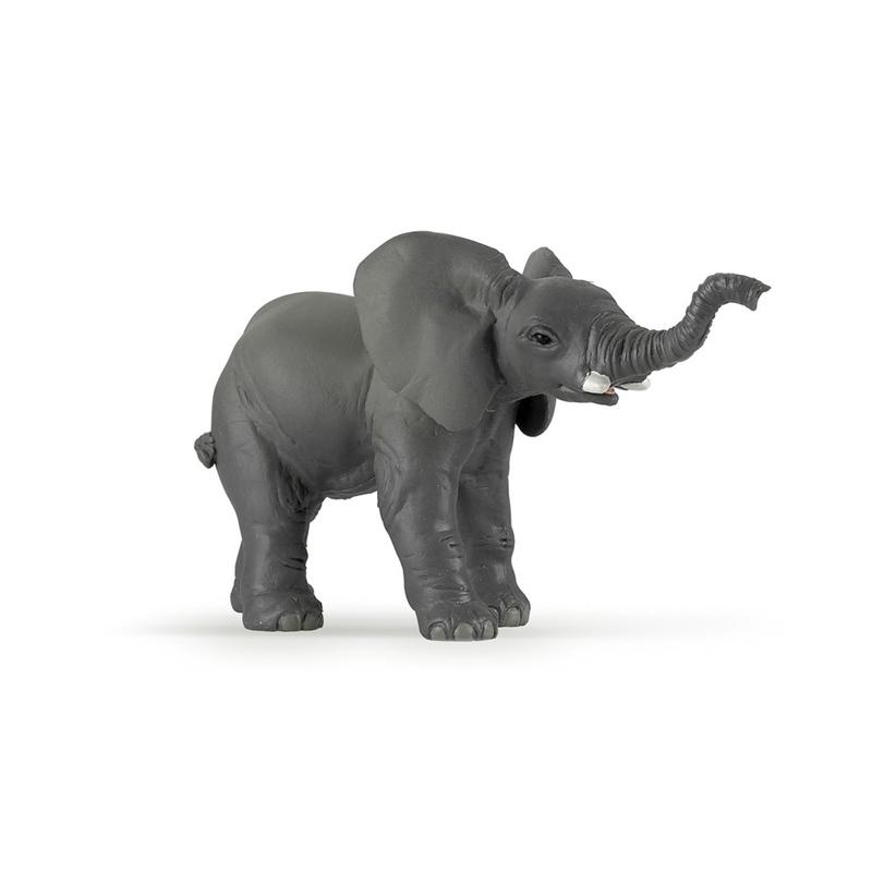 Figurina Papo Elefant pui imagine hippoland.ro