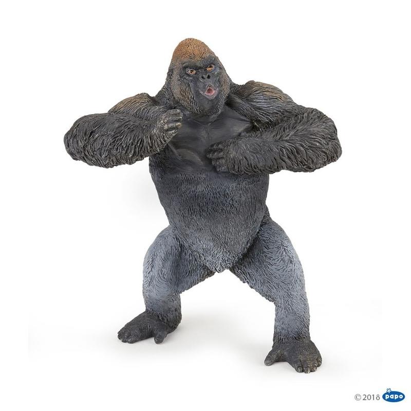Figurina Papo Gorila de munte imagine hippoland.ro