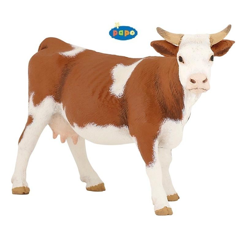 Figurina Papo Vaca Simmental imagine hippoland.ro