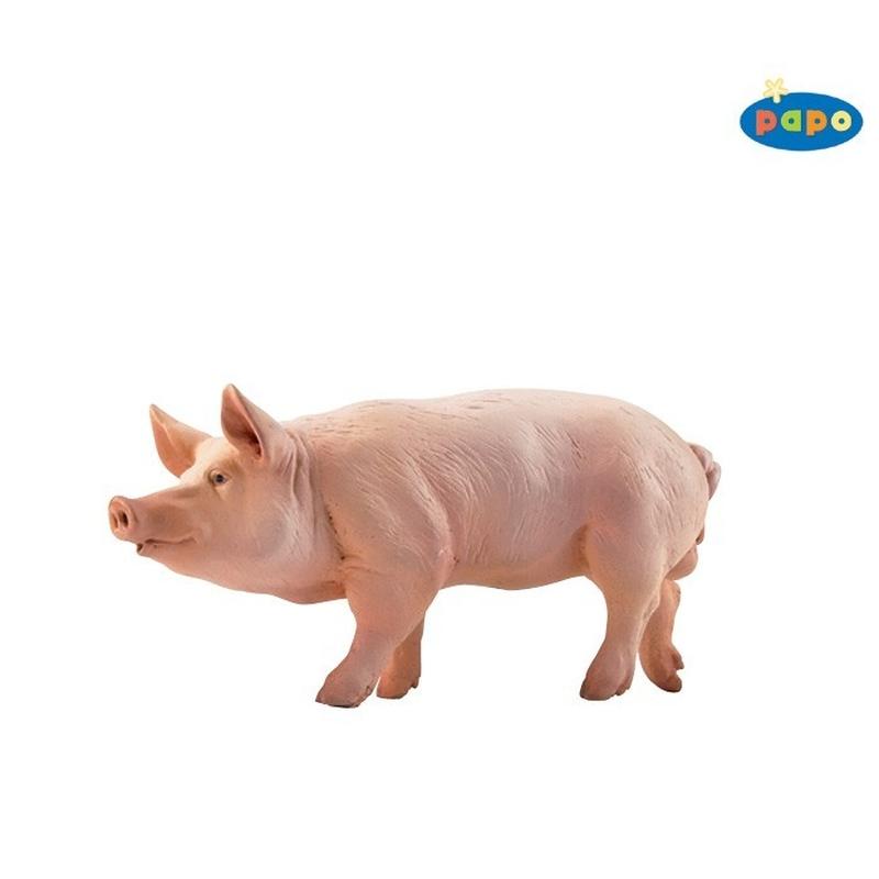 Figurina Papo Vier (porc) imagine hippoland.ro