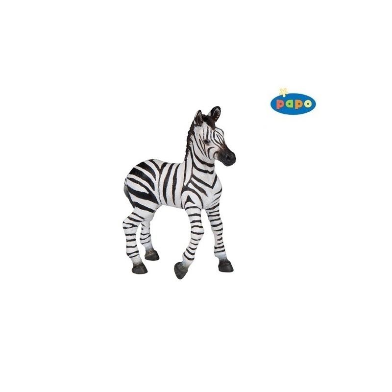 Figurina Papo Zebra pui imagine hippoland.ro