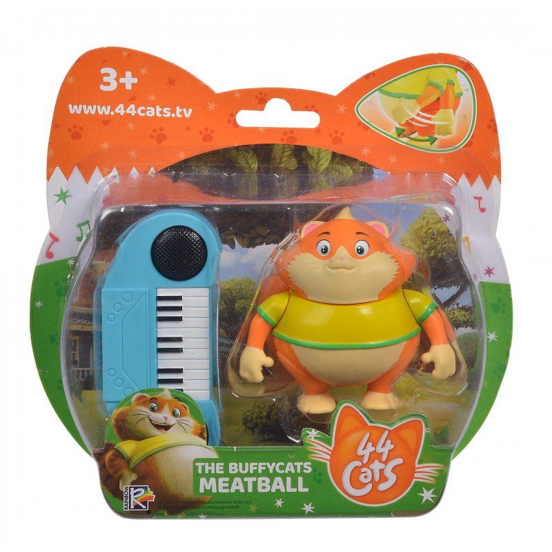 Figurina pisica 44 Cats Meatball cu orga imagine hippoland.ro