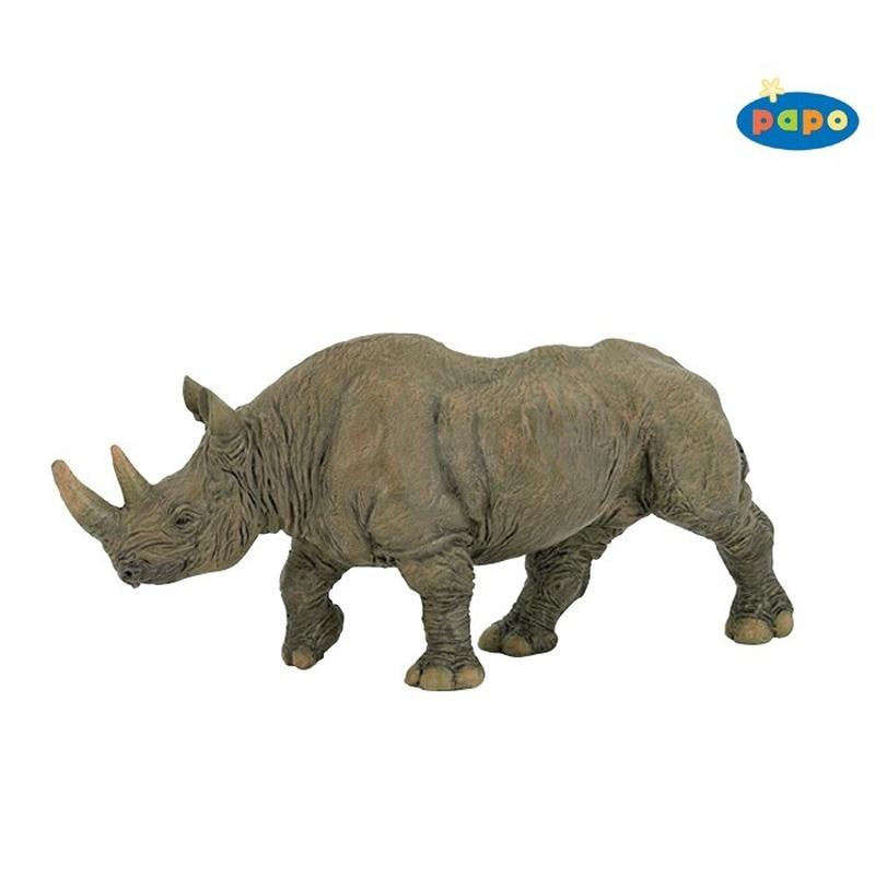 Figurina Rinocer Papo imagine hippoland.ro