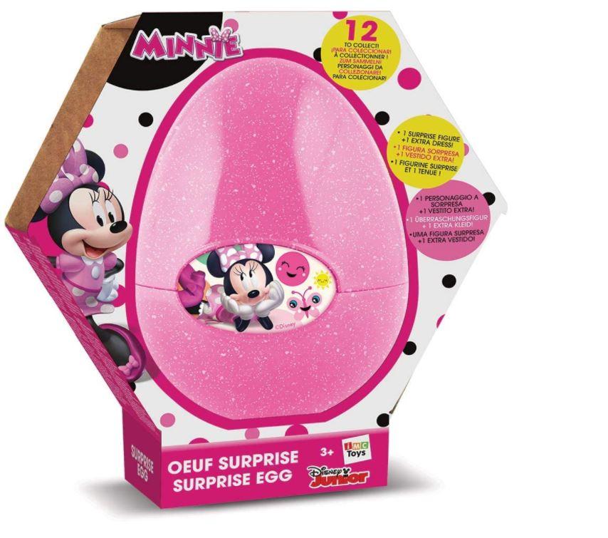 Figurina surpriza cu accesoriu in ou Minnie Mouse imagine hippoland.ro
