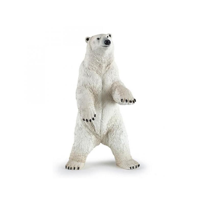 Figurina Urs polar in picioare Papo imagine hippoland.ro