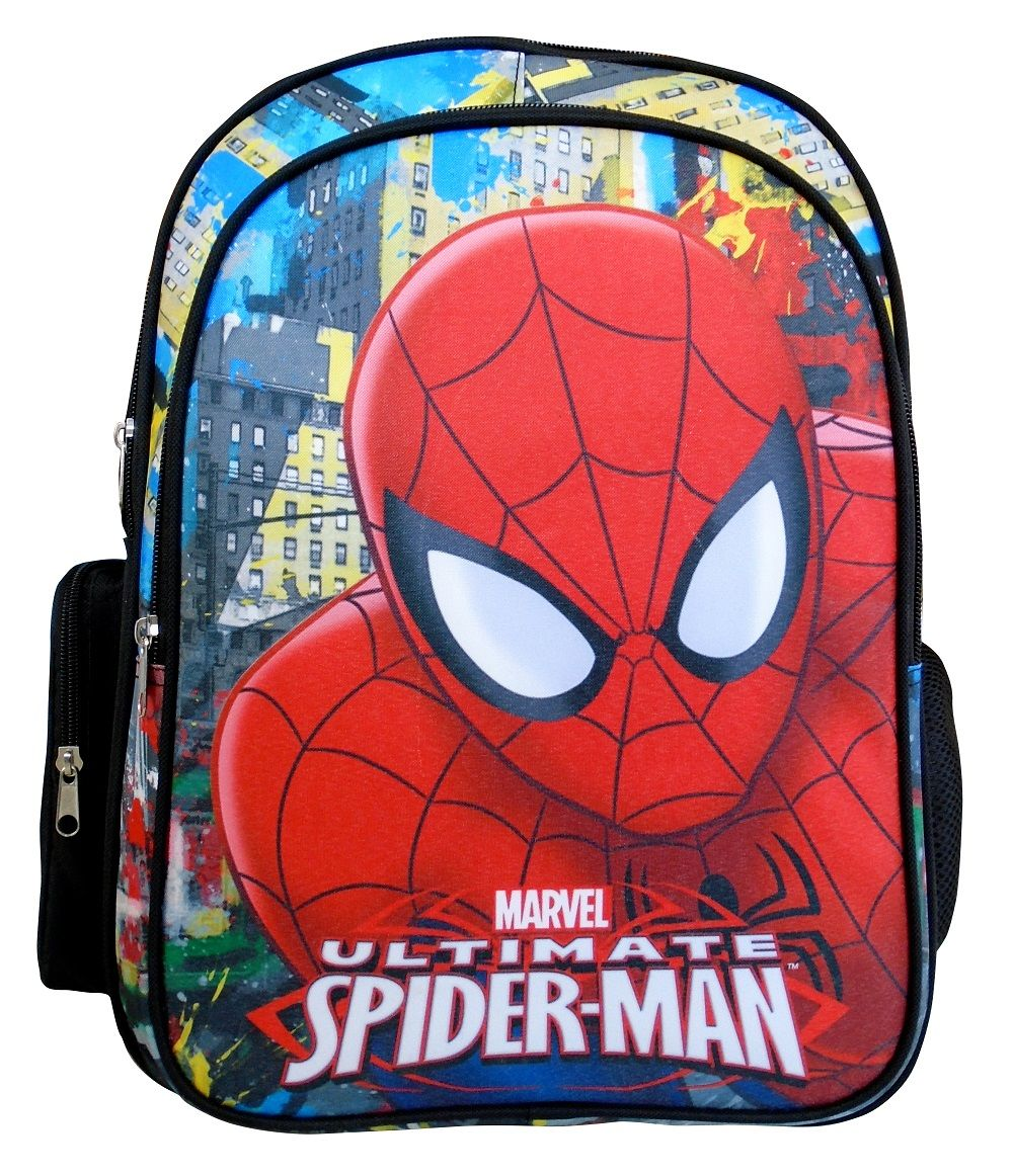 Ghiozdan scoala 42 x 28 cm Paxos Spiderman imagine hippoland.ro