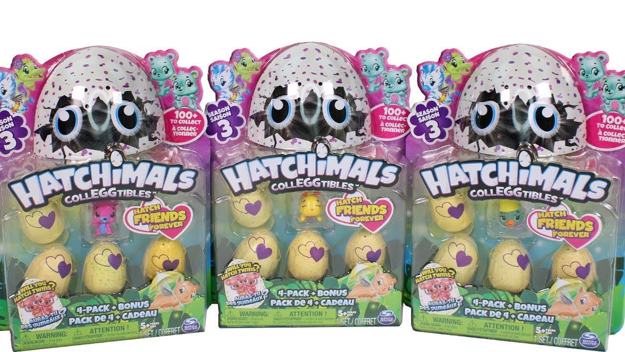 Set 4+1 figurine Hatchimals imagine hippoland.ro