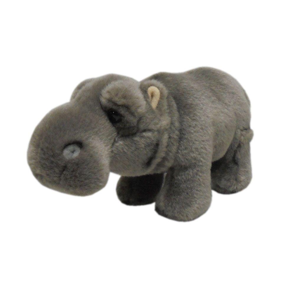 Hipopotam de plus Silky 21 cm imagine hippoland.ro