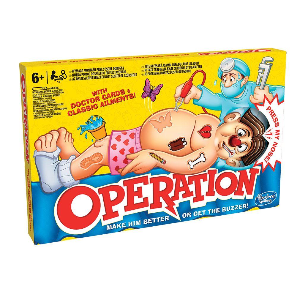 Joc clasic Hasbro Operation imagine hippoland.ro