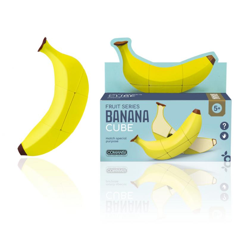 Joc de inteligenta Banana Cube imagine hippoland.ro