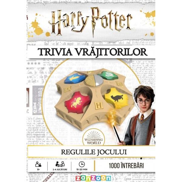 Joc de societate Harry Potter Trivia Vrajitorilor imagine hippoland.ro