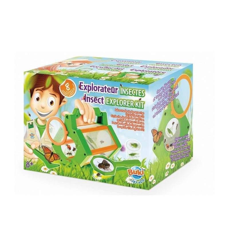 Joc educativ Buki 8 experimente, Exploratorul de insecte imagine hippoland.ro