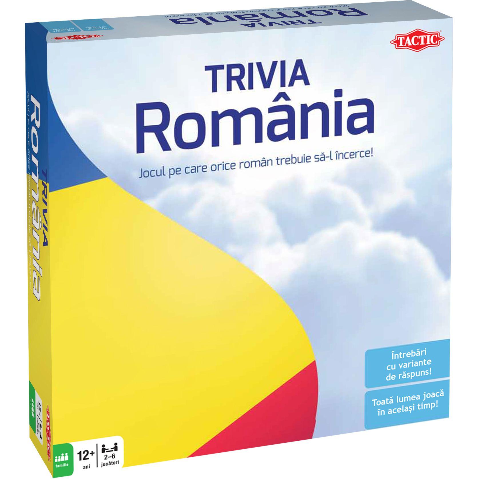 Joc Tactic Country Trivia Romania
