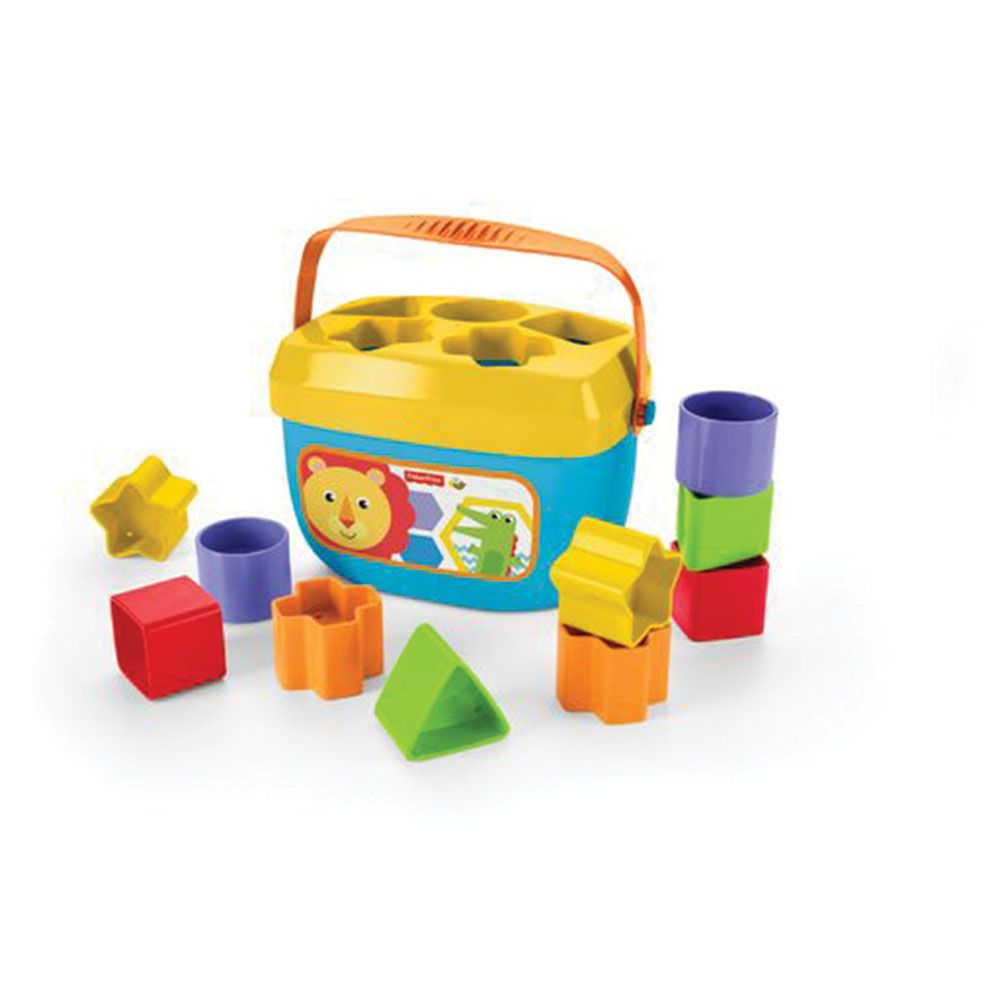 Jucarie bebelusi Fisher Price Babys First Blocks imagine hippoland.ro