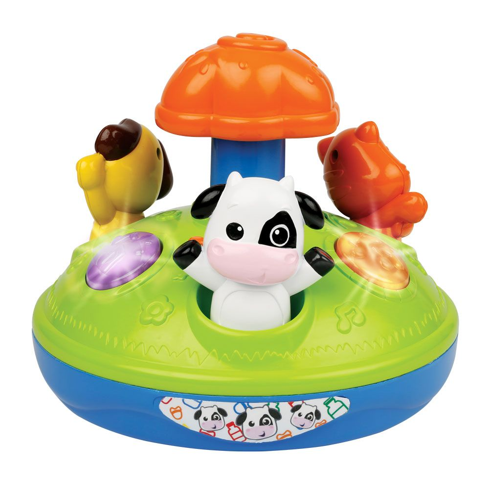 Jucarie bebelusi Winfun Animal Friends imagine hippoland.ro