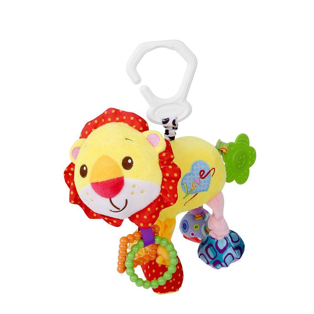 Jucarie cu vibratii pentru bebelusi Lorelli Lion imagine hippoland.ro