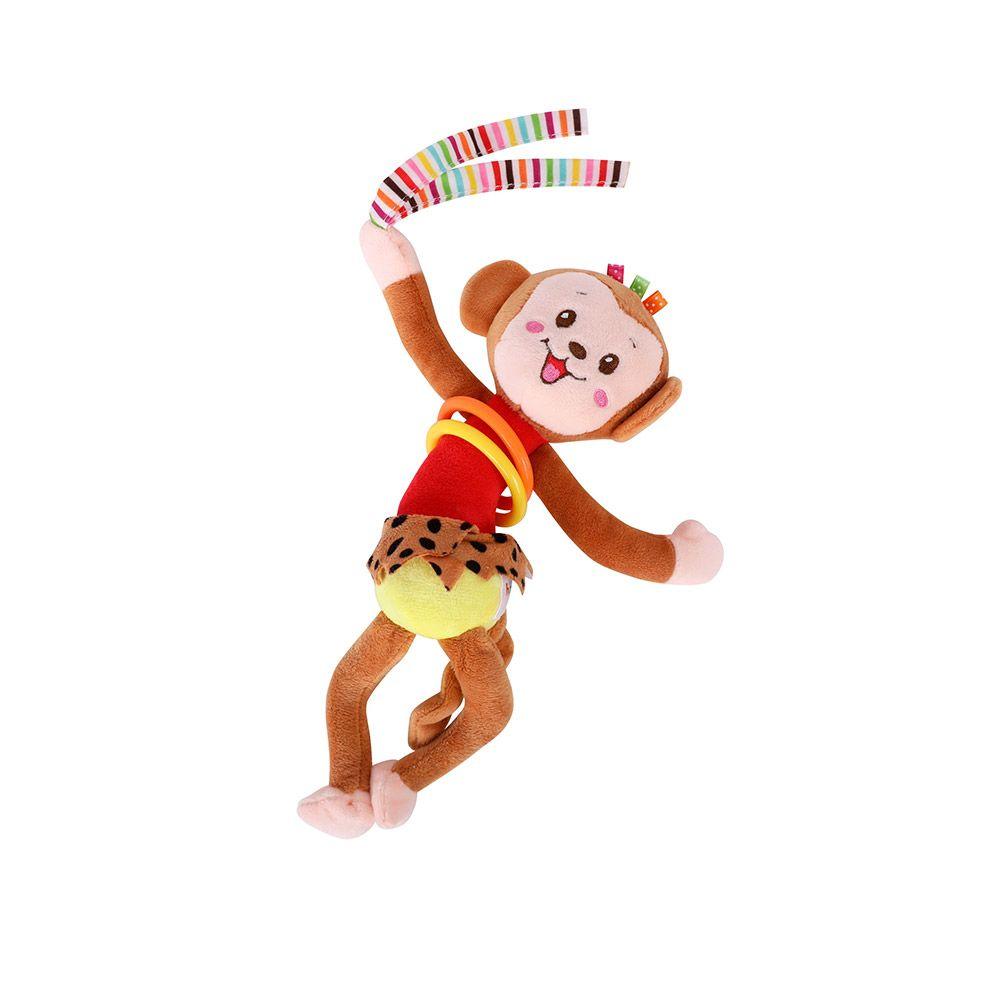 Jucarie cu vibratii pentru bebelusi Lorelli Monkey imagine hippoland.ro