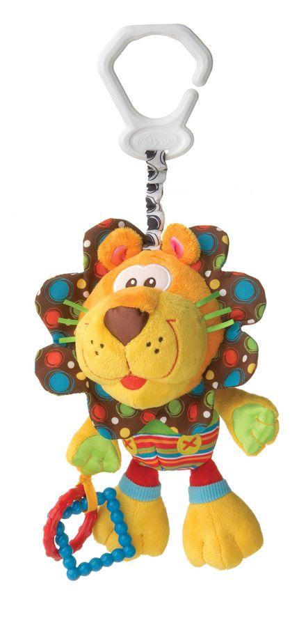 Jucarie de agatat PlayGro Roary Lion imagine hippoland.ro