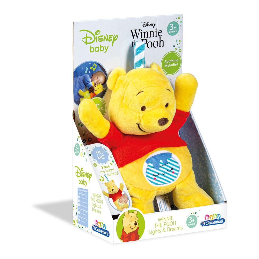 Jucarie de plus Clementoni Baby Disney Winnie The Pooh imagine hippoland.ro