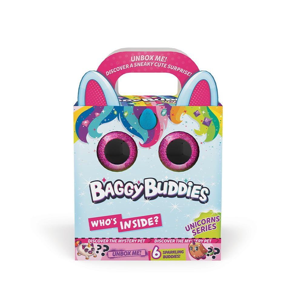 Jucarie de plus surpriza Baggie Buddies Unicorn XL